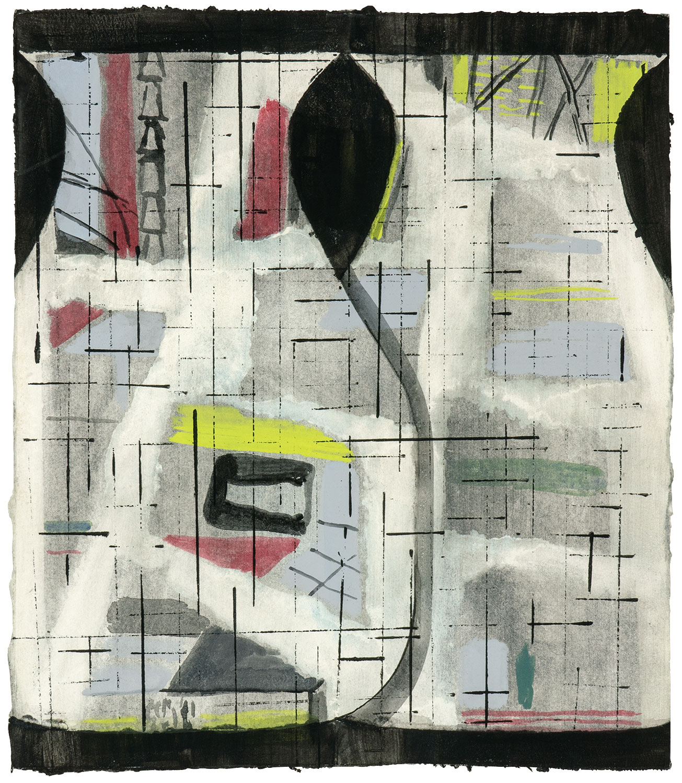 Jasmin Schmidt Zwei Vasen ein Muster